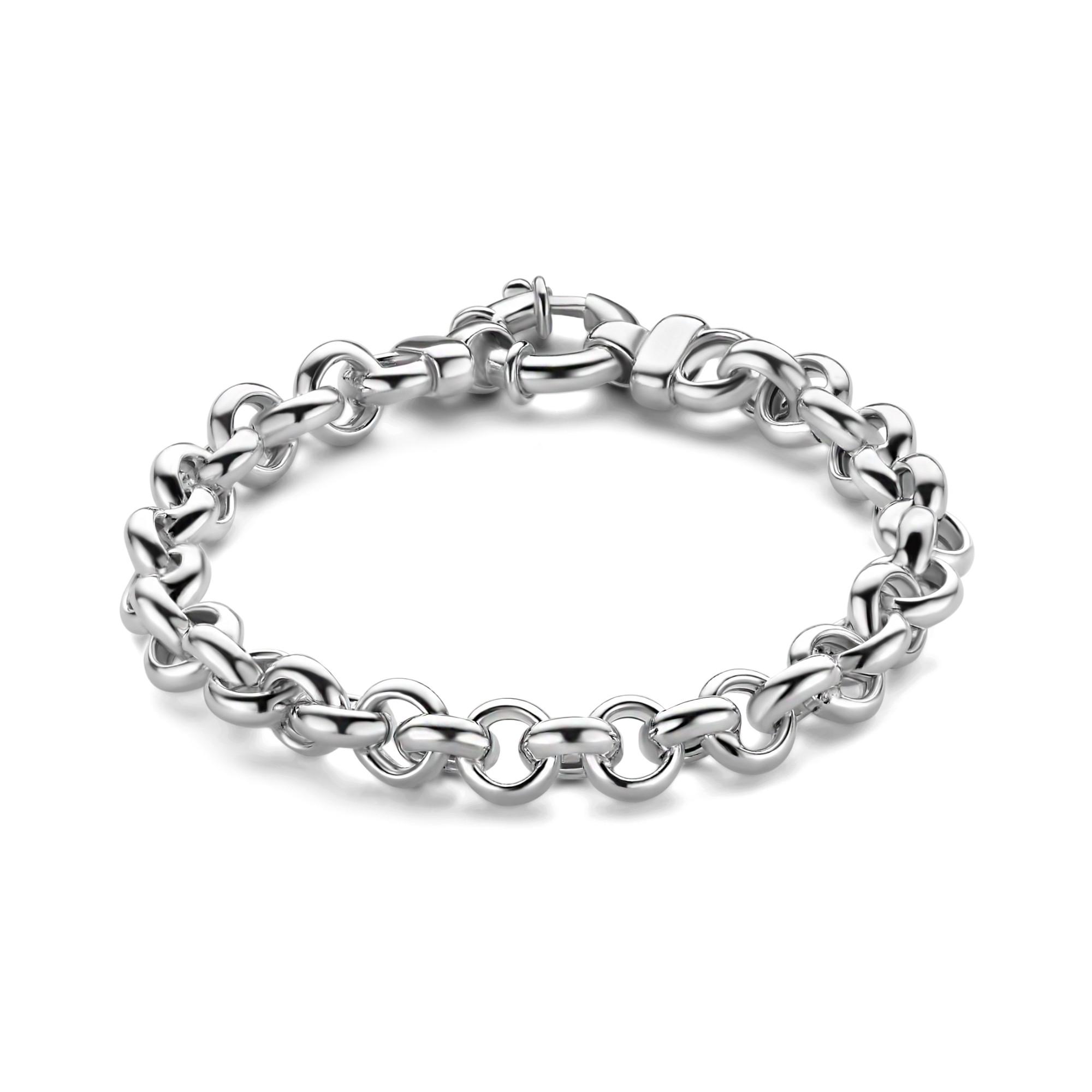 Zilveren jasseron armband 1040886-19