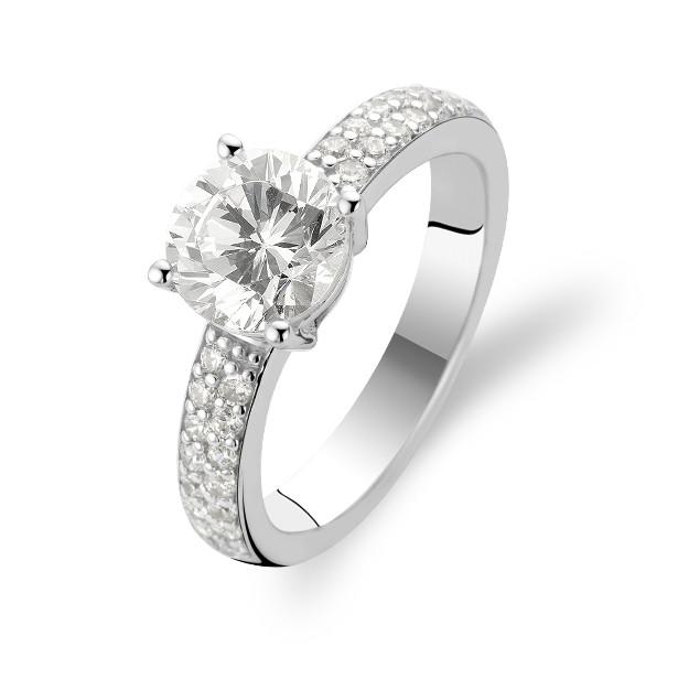 Zilveren ring met zirkonia 1737ZI