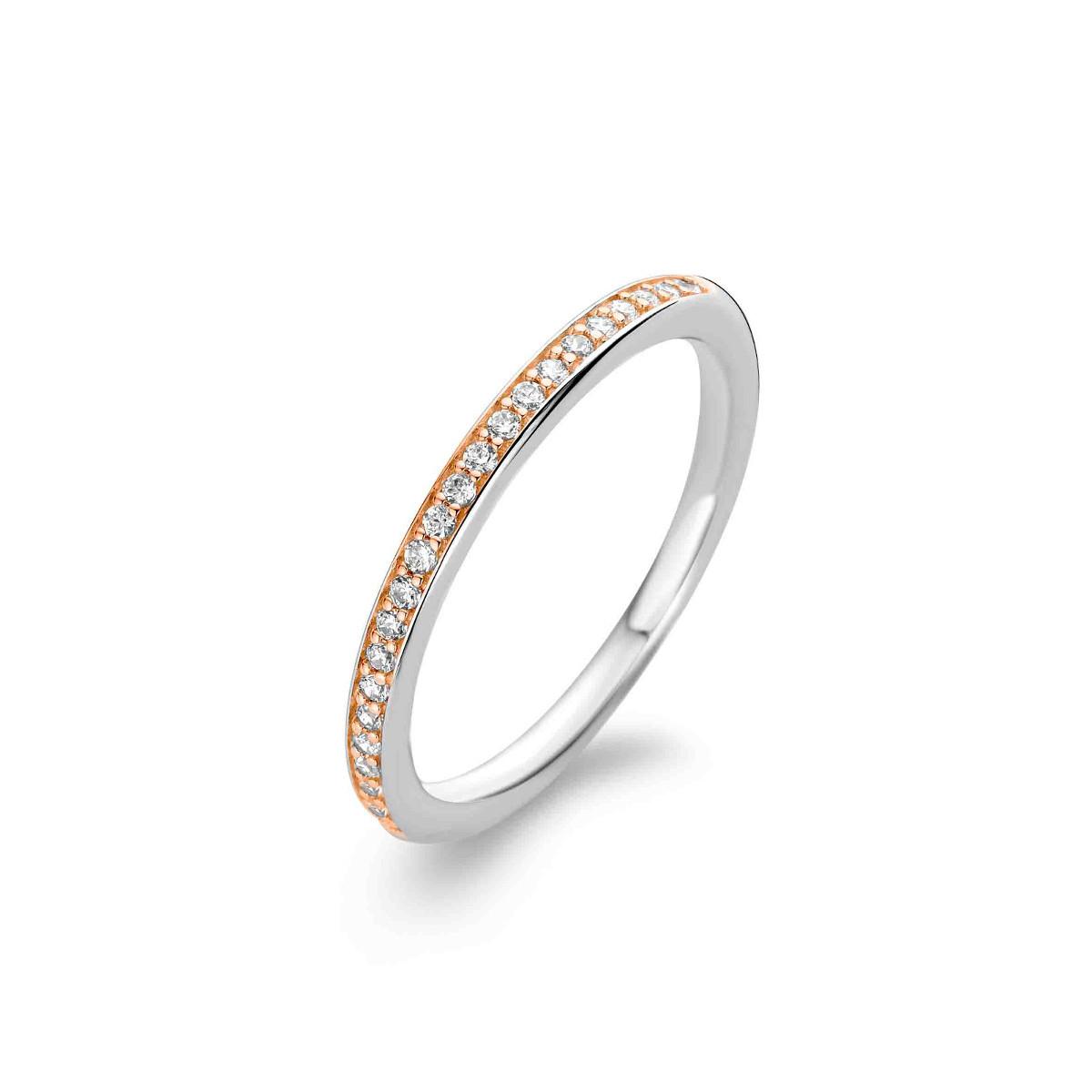 Zilveren ring met zirkonia 1923ZR