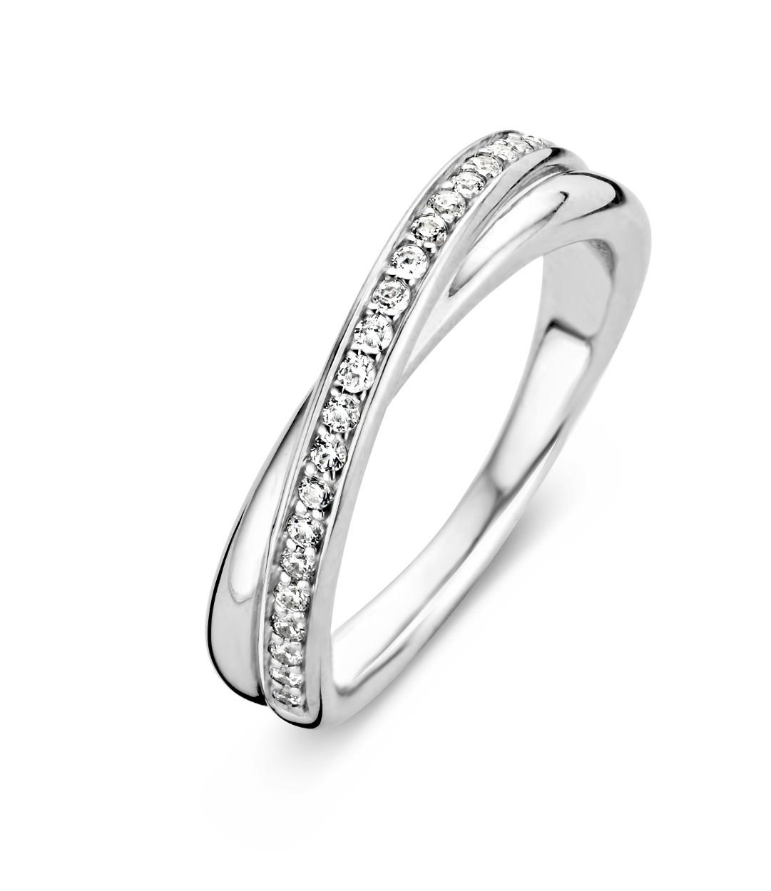 Zilveren ring met zirkonia 1953ZI