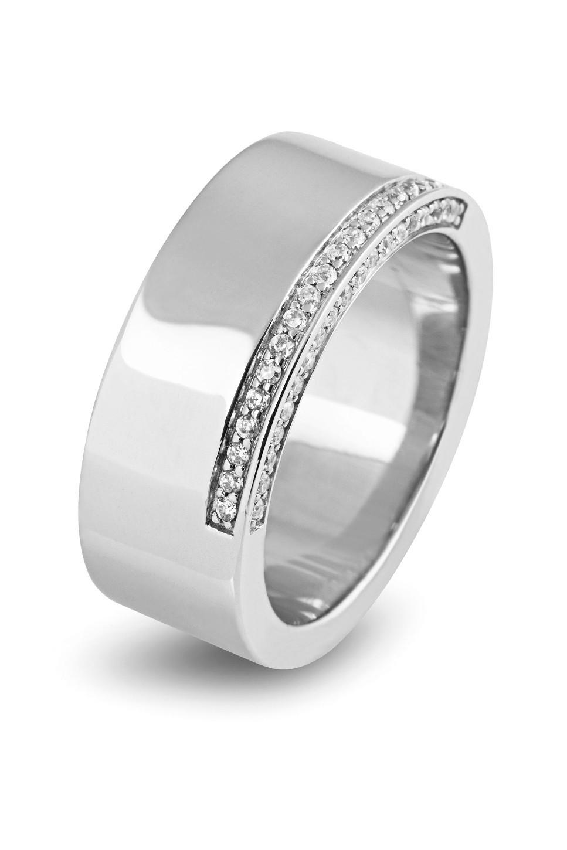 Zilveren damesring met zirkonia 625560086