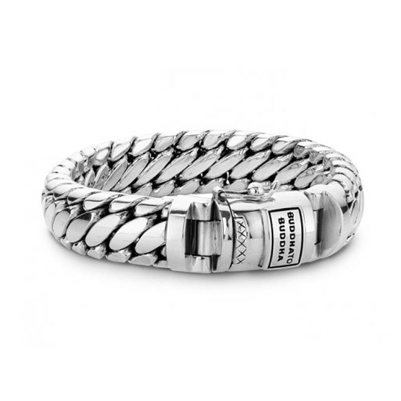 Zilveren armband Ben Medium 073