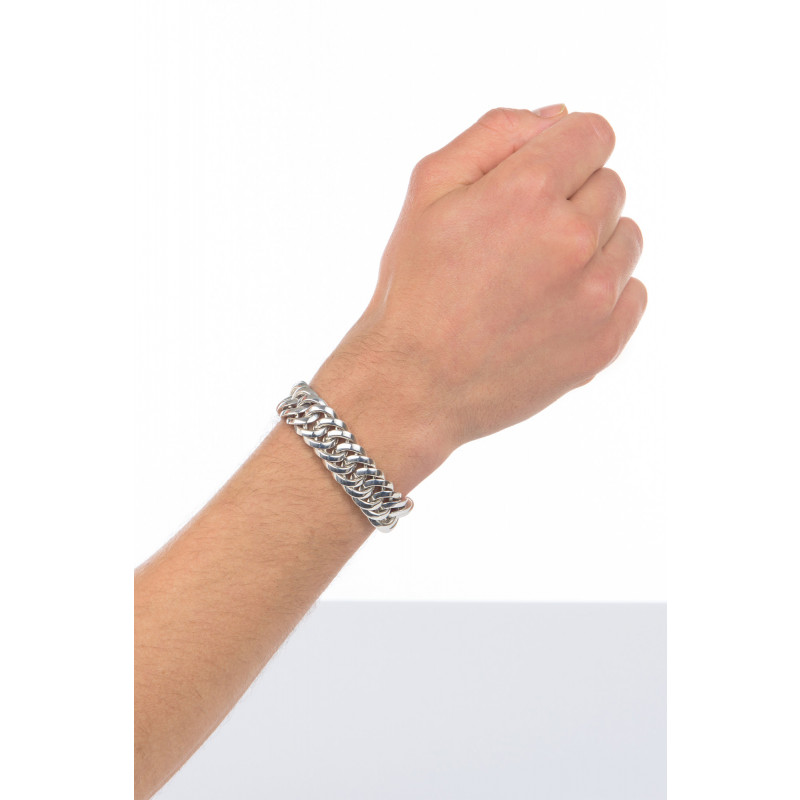 Zilveren armband Chain small 090