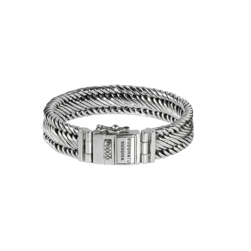 Zilveren armband Edwin small 151