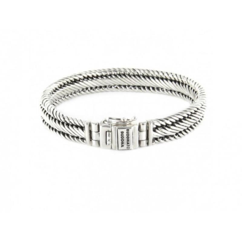 Edwin XS Bracelet Silver J155