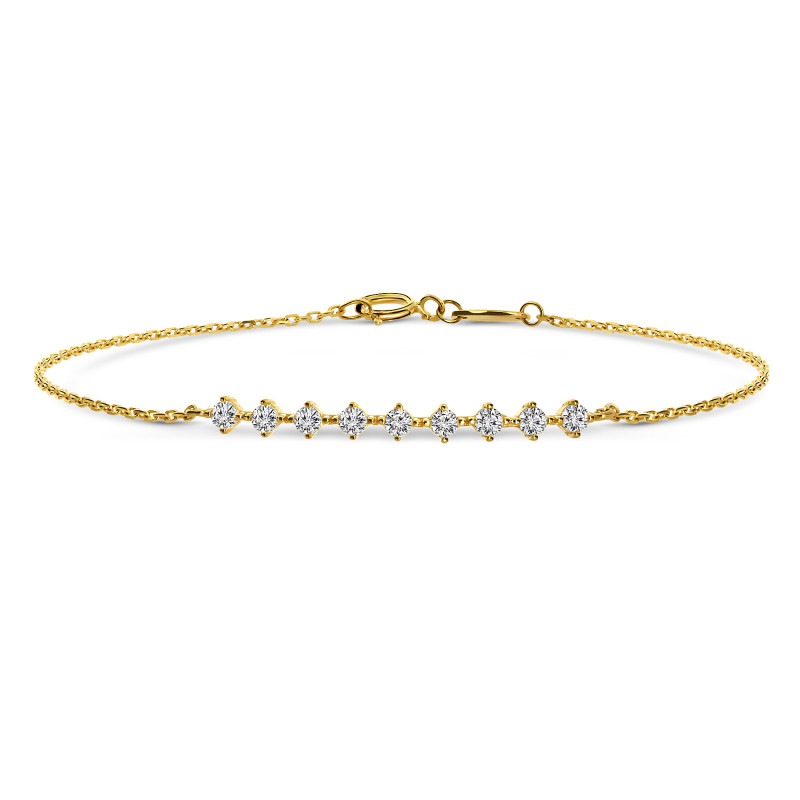 Geelgouden armband 6B0978-FCZ-Y