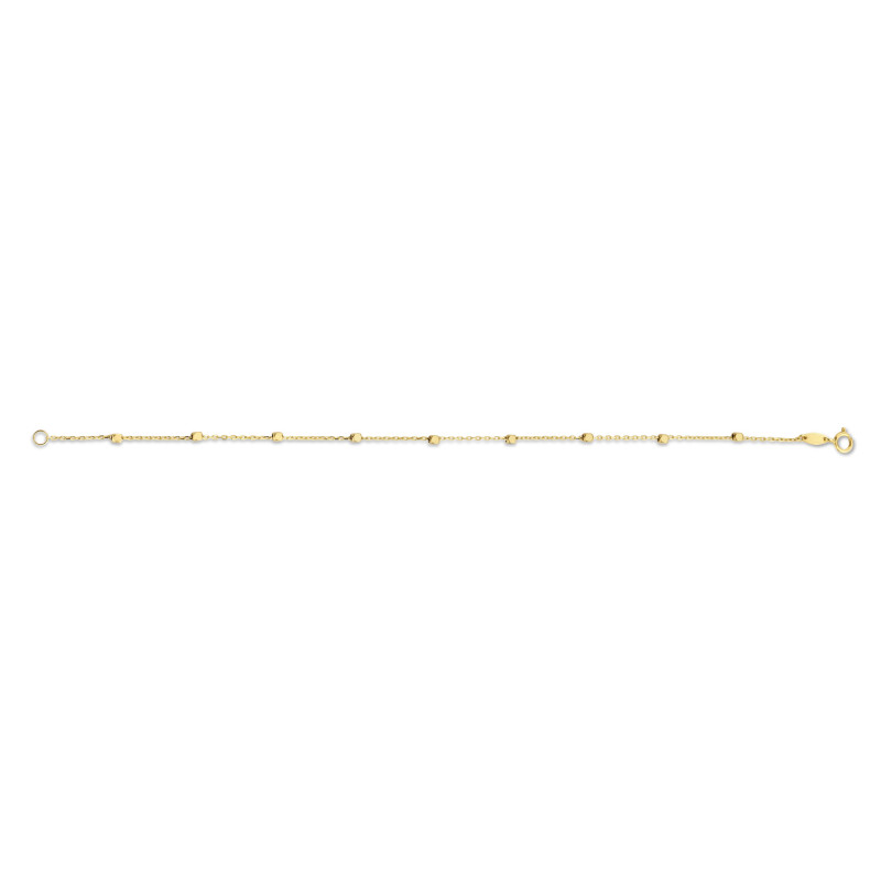 Geelgouden armband 6B5753