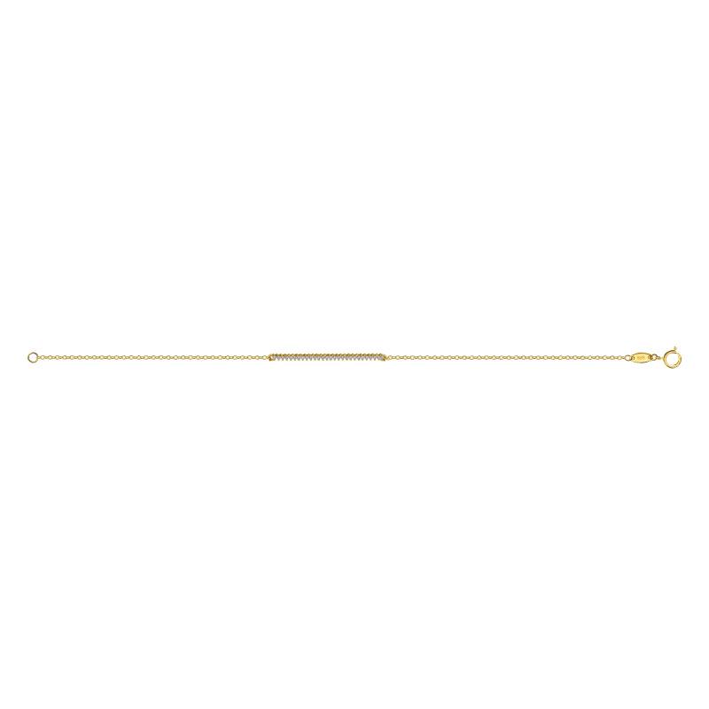 Geelgouden armband 7B1483-FCZ-Y