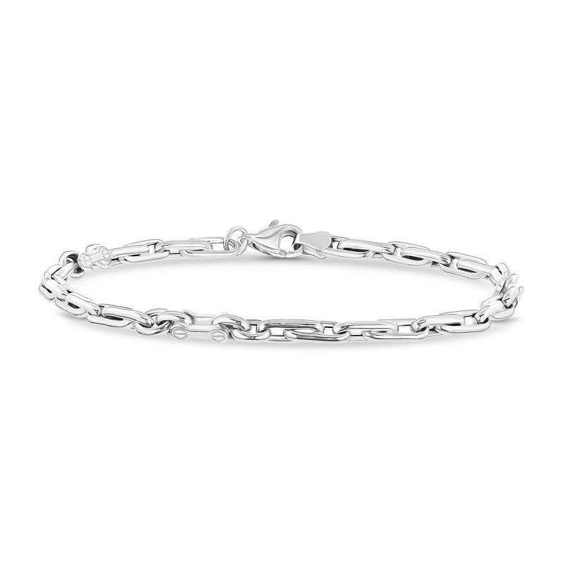 Witgouden armband HOB210456-W