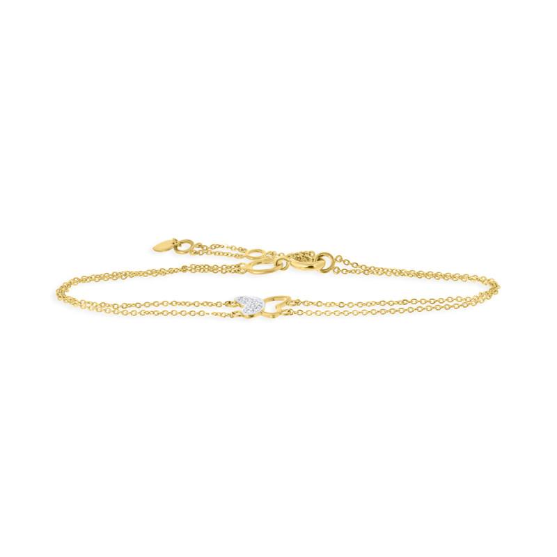 Geelgouden armband 59012Z