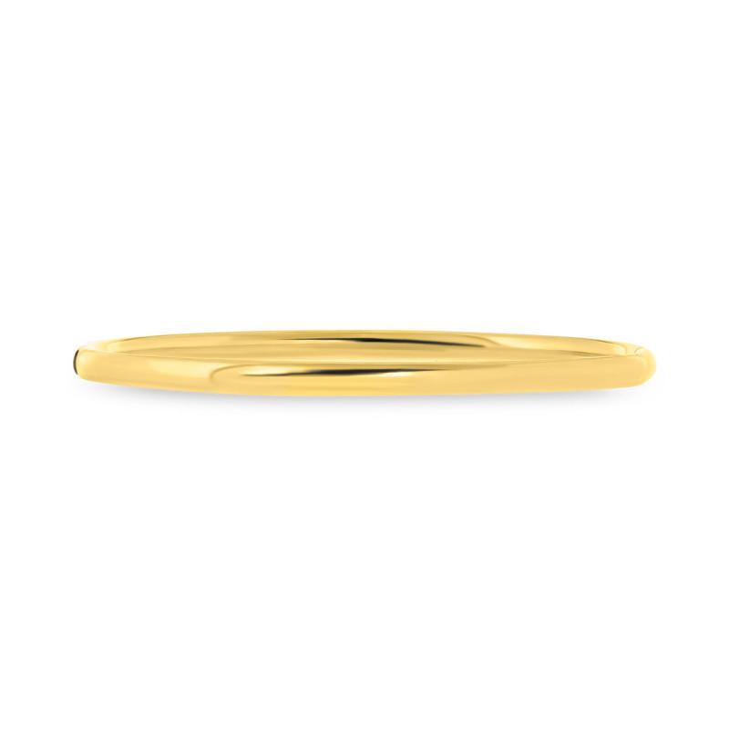 Geelgouden bangle met zilveren kern S40A356104