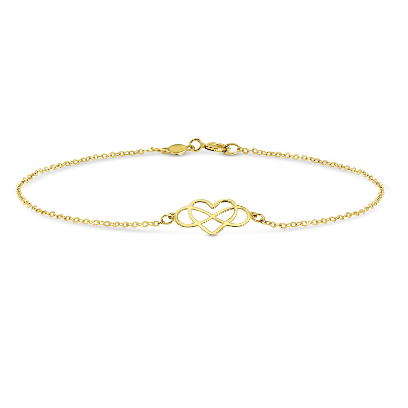 Geelgouden armband BRRL08NP