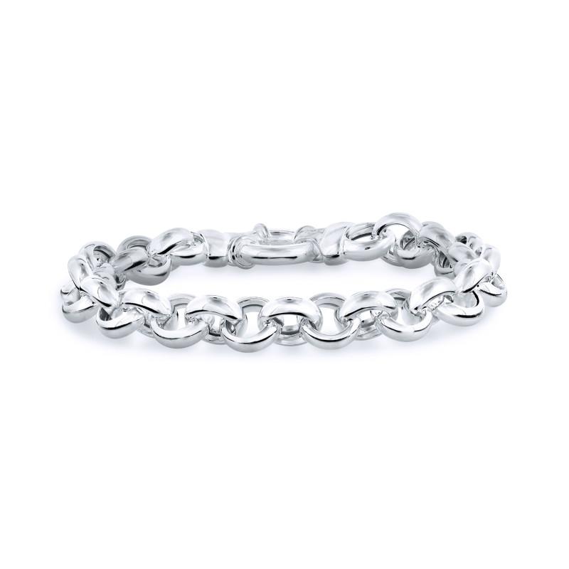 Zilveren jasseron armband 104.0885.20