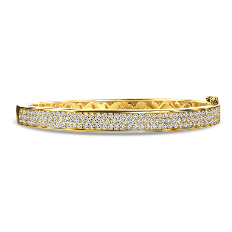 Goldplated armband 01.5052Z.35