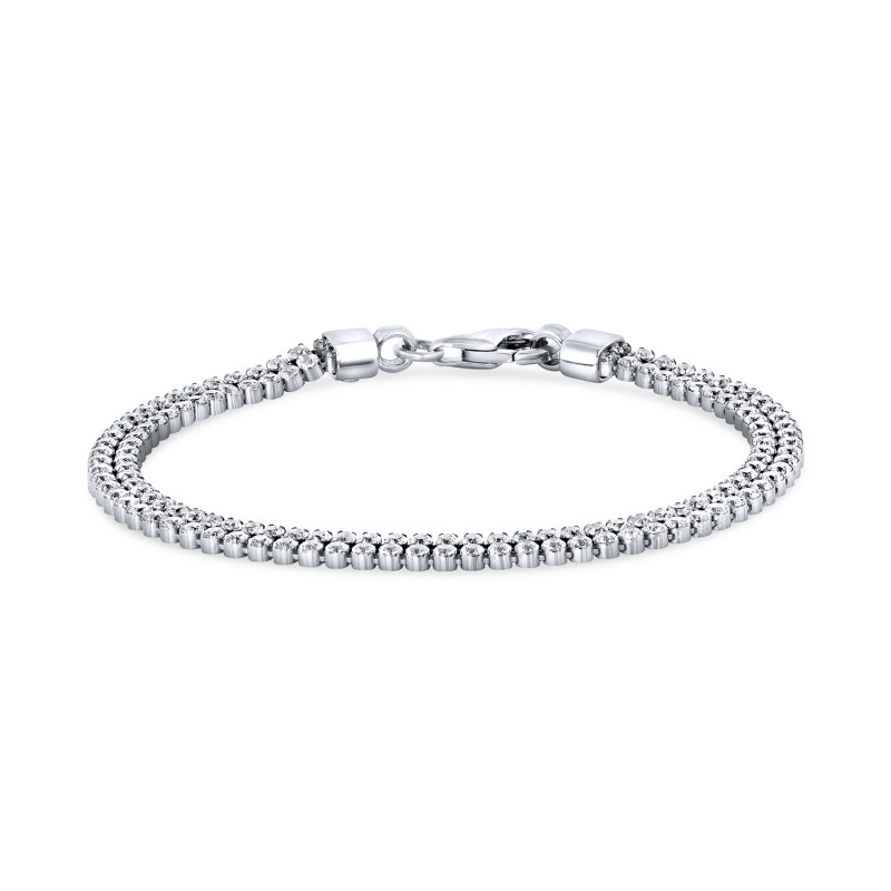 Zilveren armband met zirkonia FS328-069