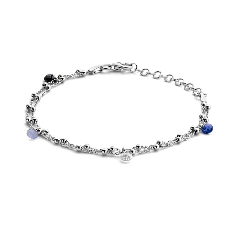 Zilveren armband met zirkonia FS994-041-R