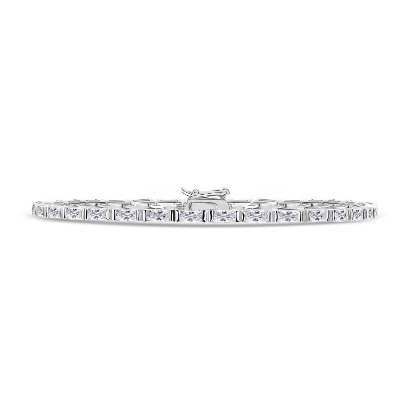 Zilveren armband met zirkonia