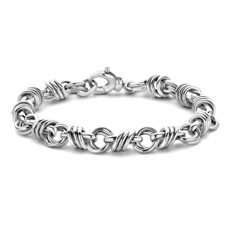 Zilveren fantasie armband CTN268