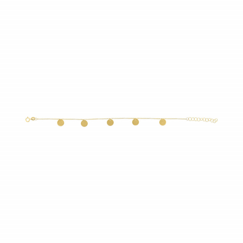 Geelgouden armband FG083-314