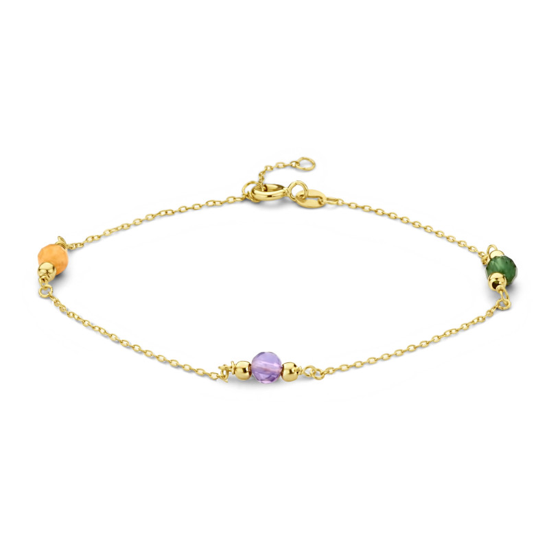 Geelgouden armband FG083-363M