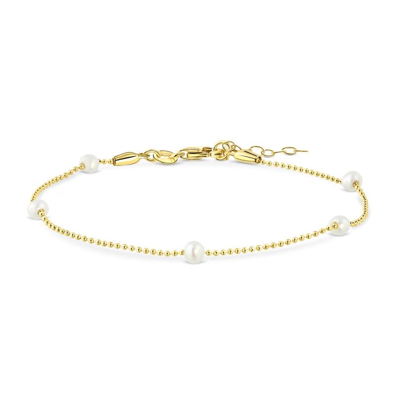 Geelgouden armband FG387-093