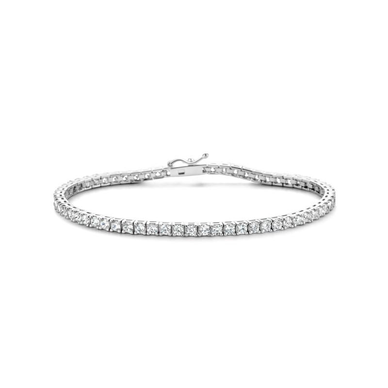 Zilveren tennisarmband TD027-2.5CB