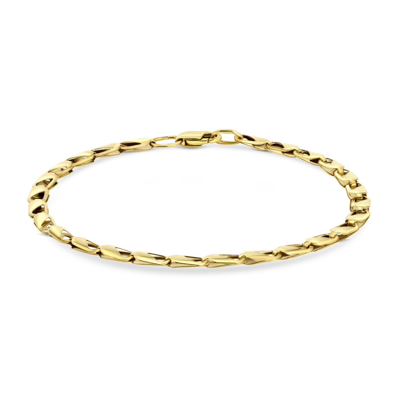 Geelgouden armband 46-044-13