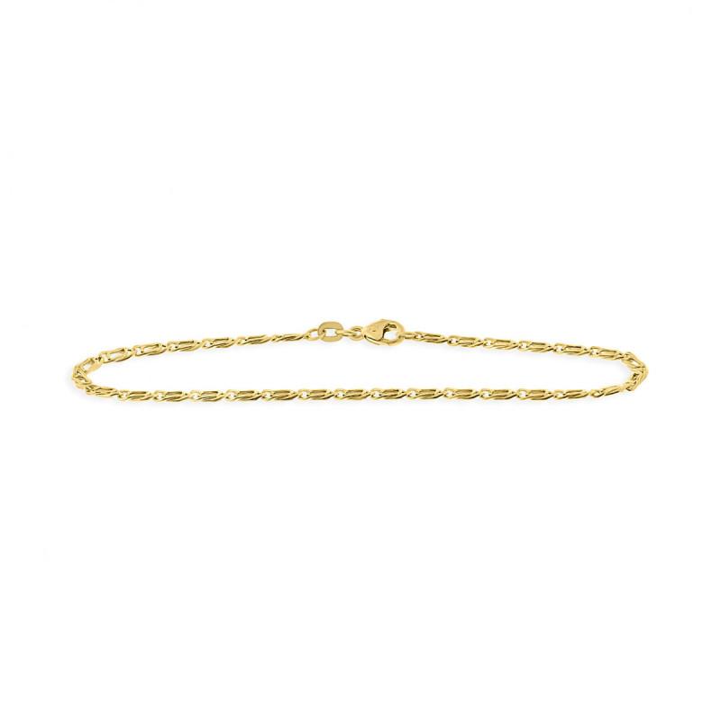 Geelgouden armband