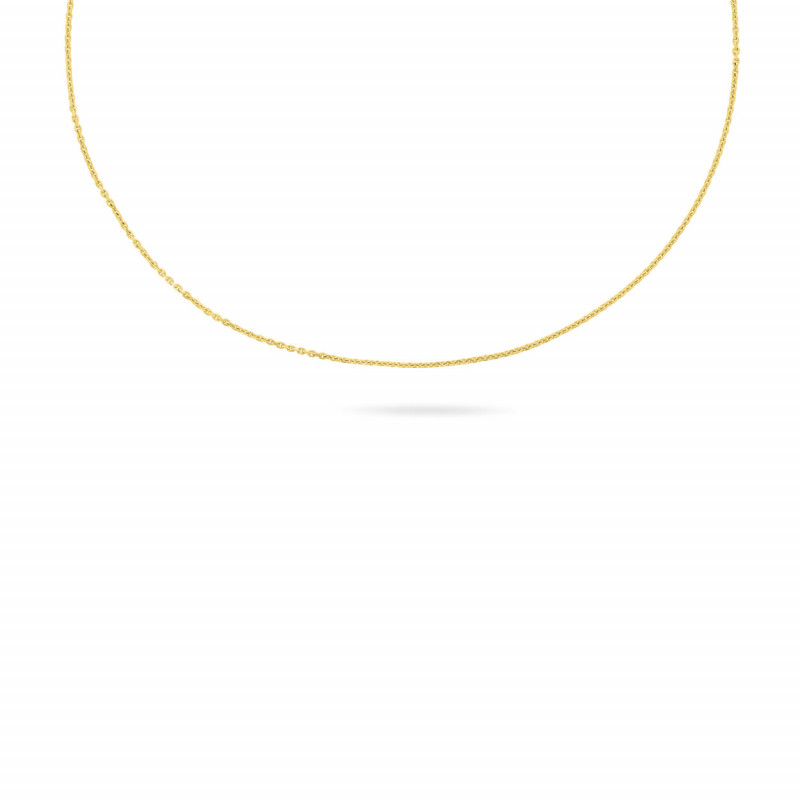 Geelgoud anker coller 1,7 mm