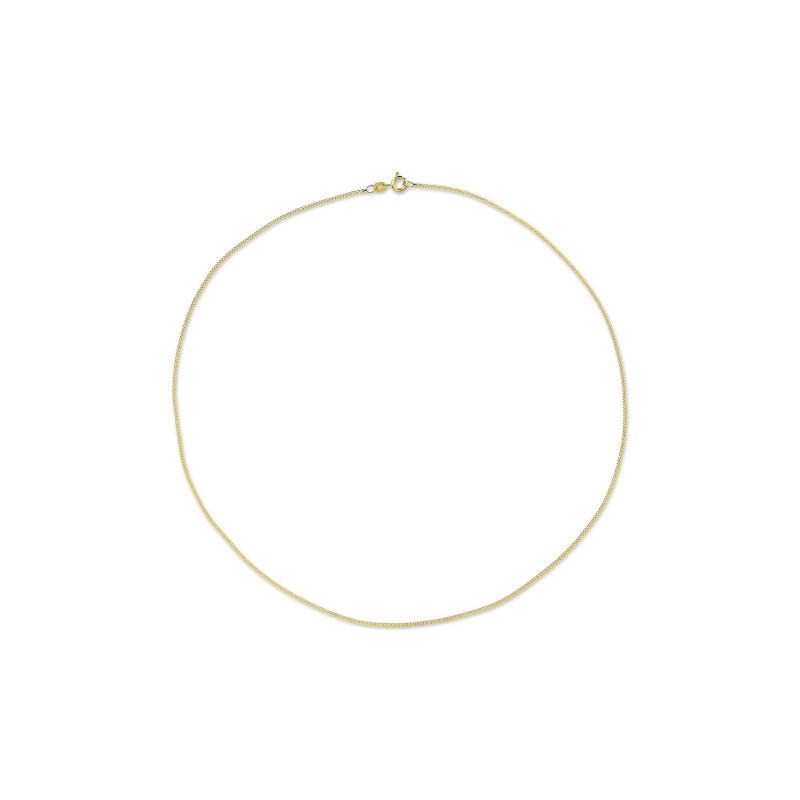 Geelgoud gourmet collier 1,4 mm