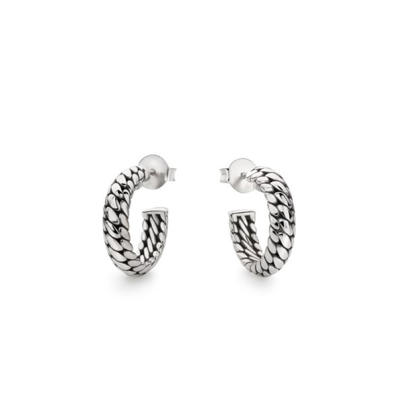 Ben Small Earring Silver