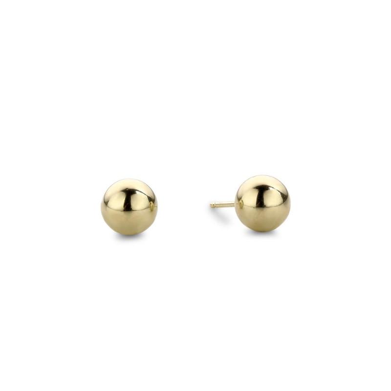 Gouden oorknoppen 4mm X3STSE0004MM