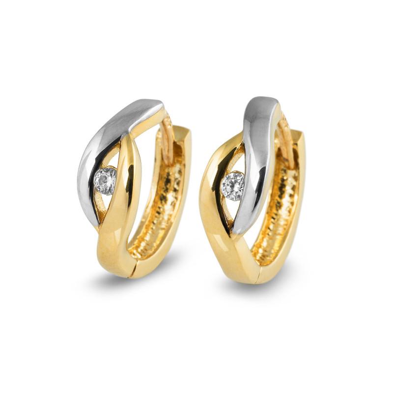 Gouden oorsieraden XXHCE204416FCZ