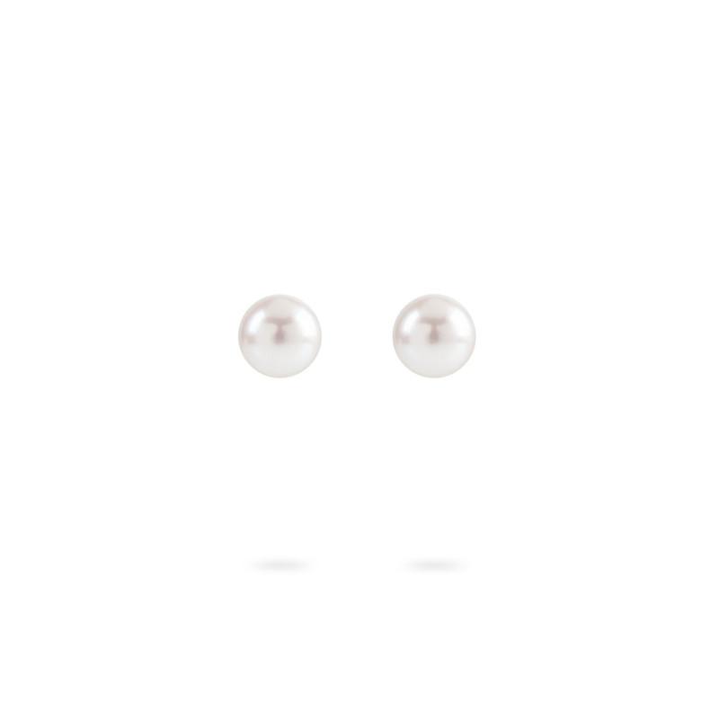 Geelgouden oorknoppen met parel ORPRLSTR6MMY