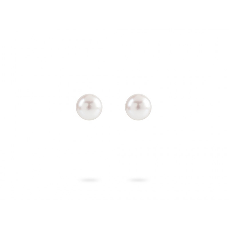 Geelgouden oorknoppen met parel ORPRLSTR7MMY
