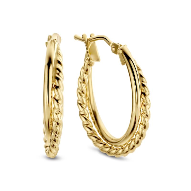 Gouden oorringen 1,5mm ORR4041.5M