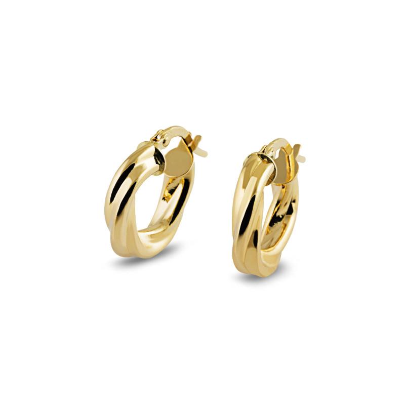 Gouden creolen RL34M08