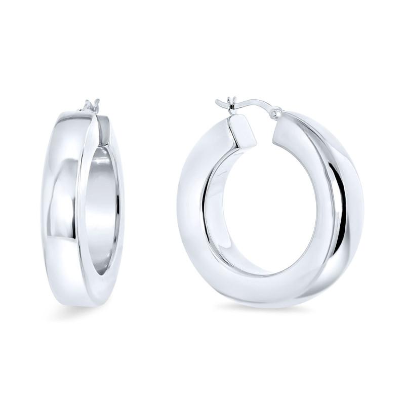Zilveren creolen 20mm 24-8683-0080