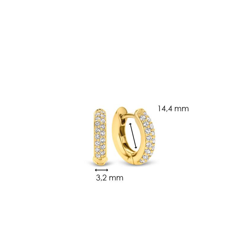 Gold plated oorringen 7210ZY