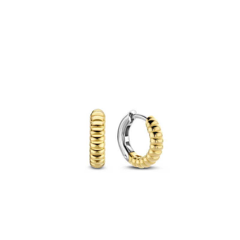 Gold plated oorringen 7839SY