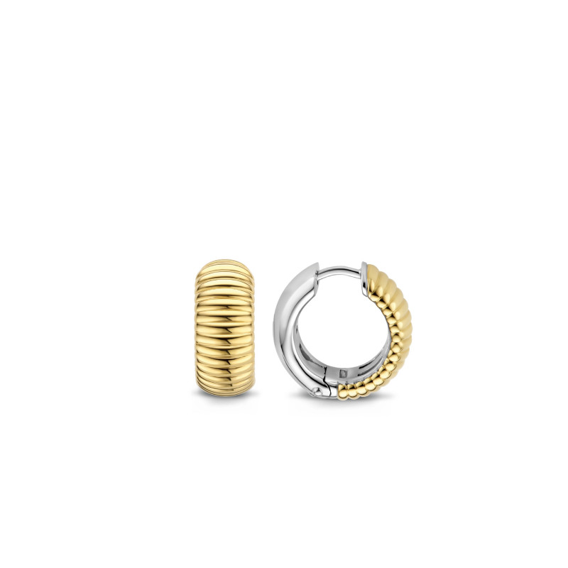 Gold plated oorringen 7840SY