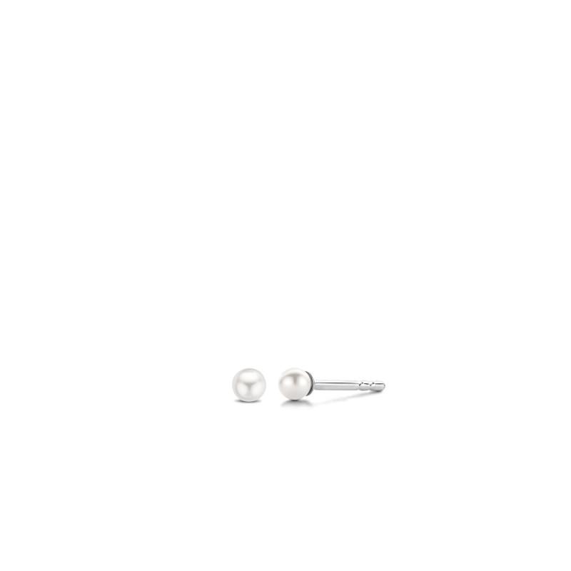 Zilveren pareloorknoppen 7841PW