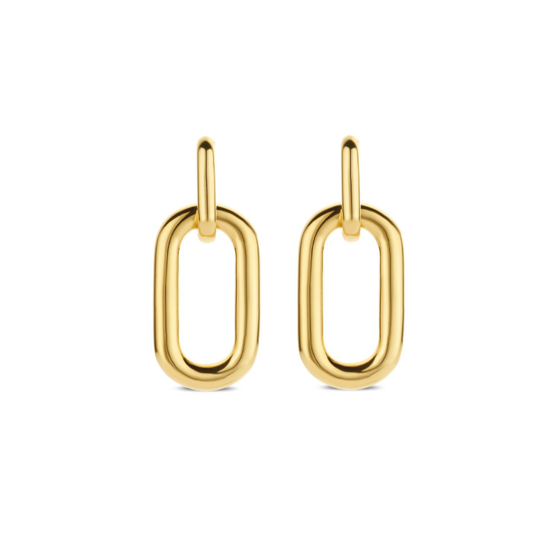 Gold plated oorhangers 7846SY