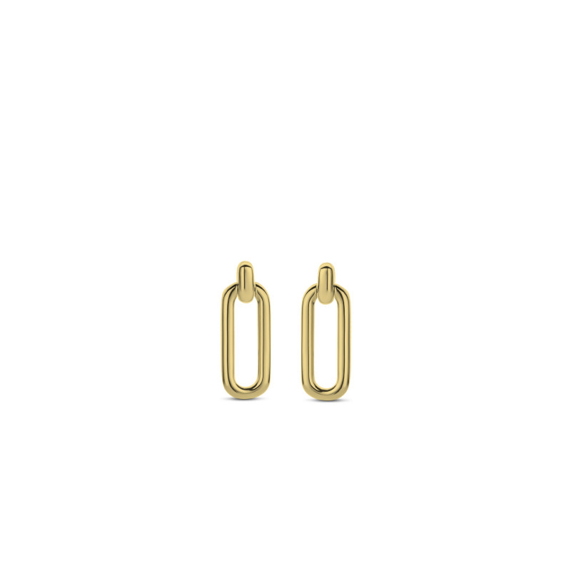 Gold plated oorhangers 7847SY