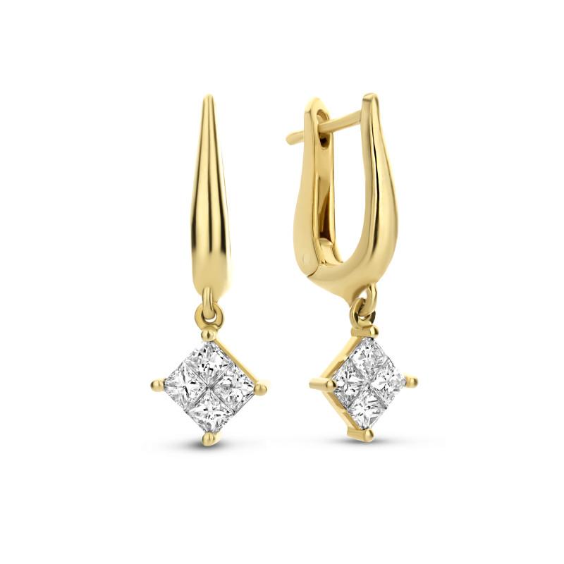 Diamanten oorhangers ZZ2-03149-Y