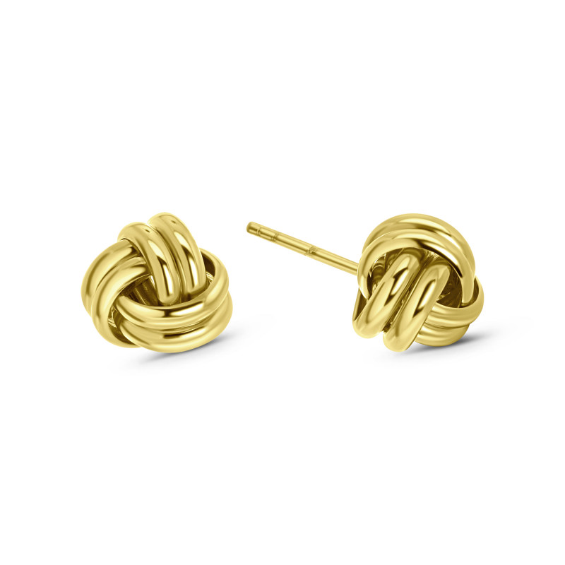Gold plated oorknoppen 03.121.35