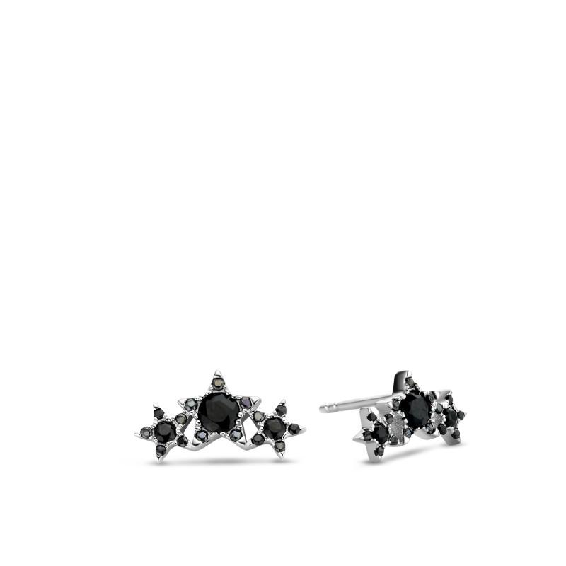 Zilveren oorstekers met spinel TCP11914BL