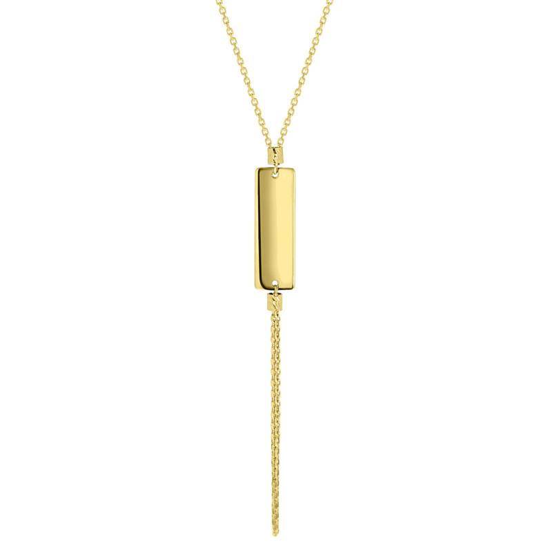 Geelgouden collier 1160-DC-Y