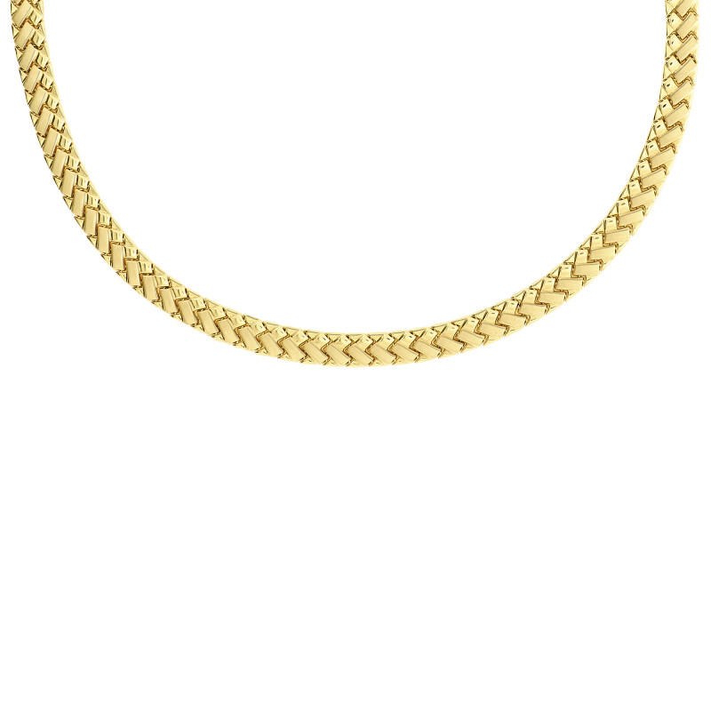 Geelgoud collier XSTN210230-Y