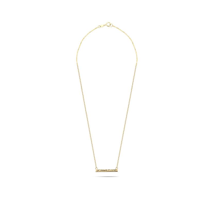 Geelgouden collier CLFA237-Y